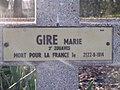 Auvelais Cimetiere Francais croix Belgium 20070101 (16) Didier Misson.JPG