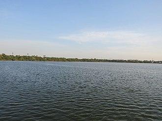 Avadi - A view of the Avadi lake