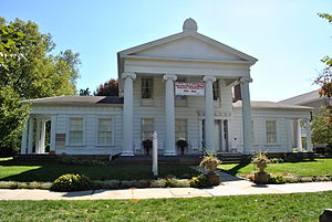 National Register of Historic Places listings in Licking County, Ohio - Image: Avery Hunter House
