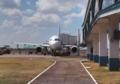 Avião estacionado no Aeroporto Internacional de Boa Vista.png