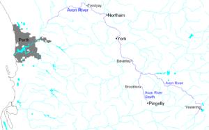 Avon River (Western Australia) - Image: Avon River
