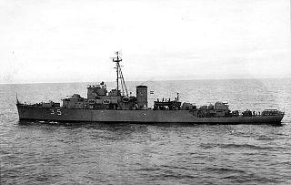 1957 Azopardo-class patrol frigate