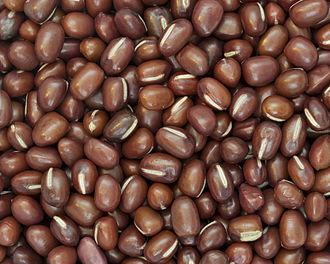 Adzuki bean - Azuki beans are also called red mung beans.