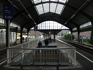 Lahn Valley Railway - Bad Ems train shed