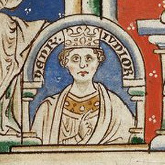 Henry the Young King - Image: BL MS Royal 14 C VII f.9 (Henry jr)
