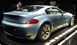 BMW 6 Series (E63) - 1999 BMW Z9 concept car