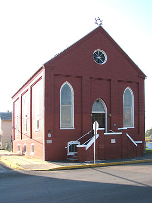 National Register of Historic Places listings in Dauphin County, Pennsylvania - Image: B Nai Jacob Synagogue Middletown PA