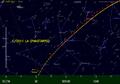 Baan van de komeet C2011 L4 PANSTARRS in het voorjaar van 2013.png