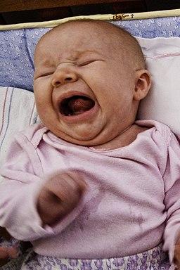 Baby yelling