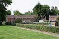 Back gardens of housing in Evans and Appleton Closes, Over Wallop - geograph.org.uk - 471405.jpg