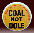 Badge, UK miners' strike (1984–85) J1.jpg