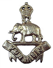 Badge of 92nd Punjabis 1903-22.jpg