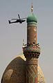 Baghdad mosque and chopper.jpg
