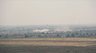 Battle of Baghuz Fawqani Battle during the Syrian Civil War involving ISIL and Syrian Democratic Forces