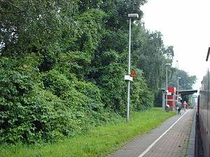 Heessen station - Image: Bahnhof Heessen