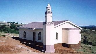 Shiselweni Region - Baitul Hadi mosque, Hlatikulu.
