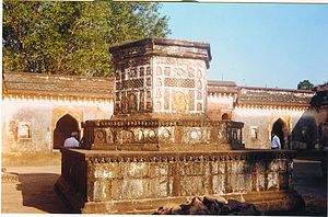Baji Rao I - The memorial chhatri
