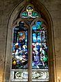 Balagny-sur-Thérain (60), église Saint-Léger, chœur, vitrail côté nord.JPG