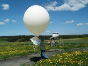Meteorological aids service - Radiosonde of the meteorological aids service