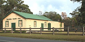 Balmoral, New South Wales (Southern Highlands) - Image: Balmoral Village Hall