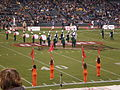 Band of the Hour performing pregame at 2008 Emerald Bowl 3.JPG