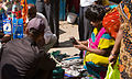 Bangalore woman buying cellphone case November 2011 -11-2.jpg