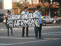 Banners and signs at demonstrations and protests against Chavismo and Nicolas Maduro government 344.jpg