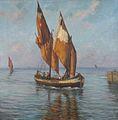 Barca di pescatori (Bragozz), 1929.jpg
