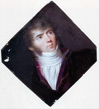 Ange Hyacinthe Maxence, baron de Damas - Maxence de Damas, by Isabey