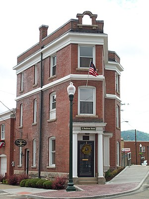 National Register of Historic Places listings in McKean County, Pennsylvania - Image: Barrett House Jun 09