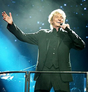 Barry Manilow - Manilow performing live in 2008 at the Xcel Energy Center, St. Paul, Minnesota.