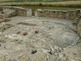 Barzan, Charente-Maritime - Remains of a sudarium, one of the bath rooms similar to a modern sauna