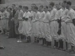 Bestand:Baseball - US government donates equipment to the Netherlands in 1948.ogv