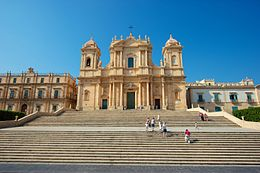 Basilica Cattedrale di San Nicolò (Noto) - Province of Syracuse - South-Eastern Sicily - Italy - 11 July 2013.jpg
