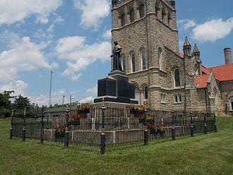 Basilica of St. Michael the Archangel (Loretto, Pennsylvania) - Demetrius Gallitzin grave