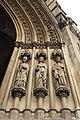 Basilique Sainte-Clotilde Paris Portail Statues 2 26102018.jpg