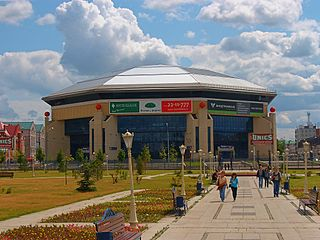 Basket-Hall Kazan A basketball specialized indoor arena located in Kazan, Tatarstan, Russia.