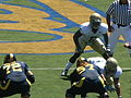Bears on offense at UC Davis at Cal 2010-09-04 3.JPG