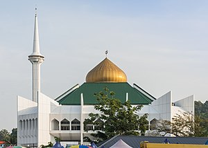 Beaufort District - Image: Beaufort Sabah Town Mosque 01