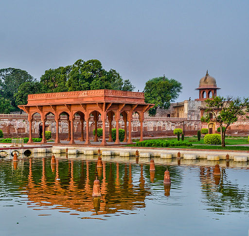 Beautiful pavilion of Faiz Baksh terrace