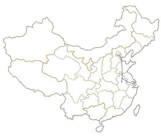 Beijing–Shanghai high-speed railway Railway line of China