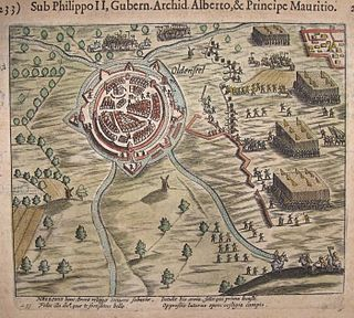Siege of Oldenzaal (1597) short siege that took place during the Eighty Years War and the Anglo–Spanish War
