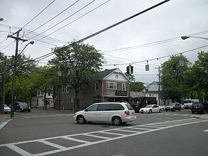 Bellport, New York - The Four Corners in Bellport