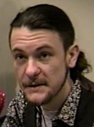 Ben Edlund - Edlund at a comics convention in the early 1990s