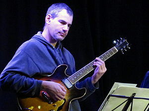 Jazz guitarist -  Ben Monder Ben Monder,Le Moulin à Jazz (France) 2011