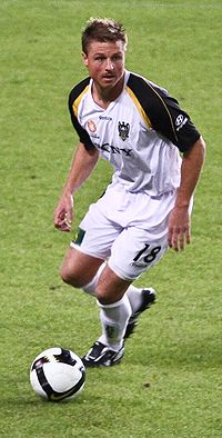 Ben Sigmund im Dress von Wellington Phoenix (2008)
