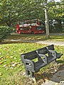 Bench, Merryhills Drive near junction with Bramley Road, Enfield - geograph.org.uk - 990615.jpg