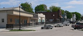 Bennington, Nebraska downtown 1.JPG