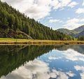 Bergtocht van Peio Paese naar Lago Covel (1,839 m) in het Nationaal park Stelvio (Italië). Lago Covel (1,841 m).jpg