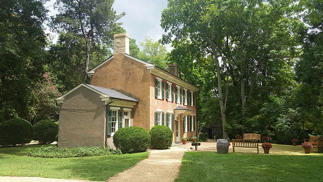 Berkeley Plantation guest house, photo taken by user Pi3. 124 on Wikimedia Commons